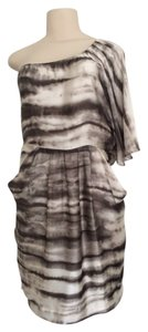 Collective Concepts short dress One Shoulder Boutique on Tradesy