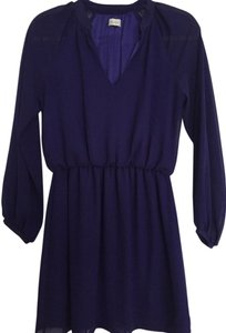Honey Punch short dress Purple on Tradesy