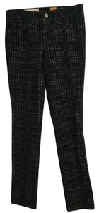 Black/patterned Leggings