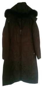 Searle Hooded Brown Jacket