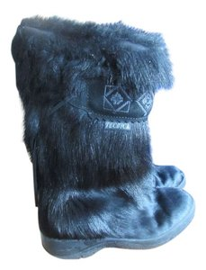 Tecnica Tall Fur black Boots