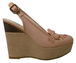 Tibi Blush Wedges