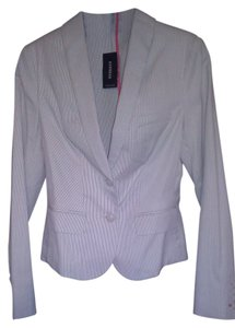 Express Suit Jacket Powder/Beige Blazer
