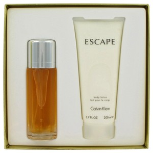 Calvin Klein ESCAPE by CALVIN KLEIN ~ Women's Gift Set -- 3.4 oz Eau de Parfum Spray + 6.7 oz Body Lotion