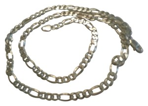 Other NEW UNISEX ITALY Sterling Silver Figaro Chain 22 ' 15.6 GRAMS