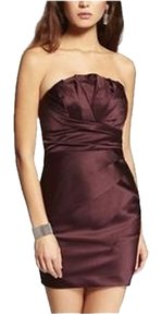 Express Strapless Dress
