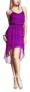 Express short dress Purples Purple on Tradesy