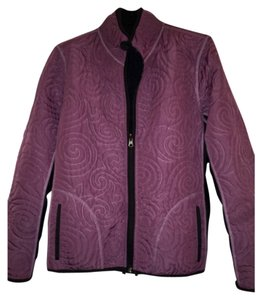 Victoria's Secret Black and Purple Jacket