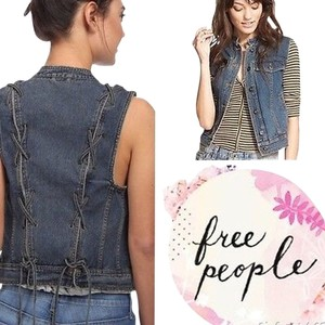 Free People Lace-up Vest