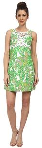 Lilly Pulitzer short dress Seeing Pink Elephants on Tradesy