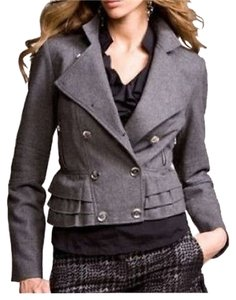 Express Moto Ruffle Motorcycle Jacket