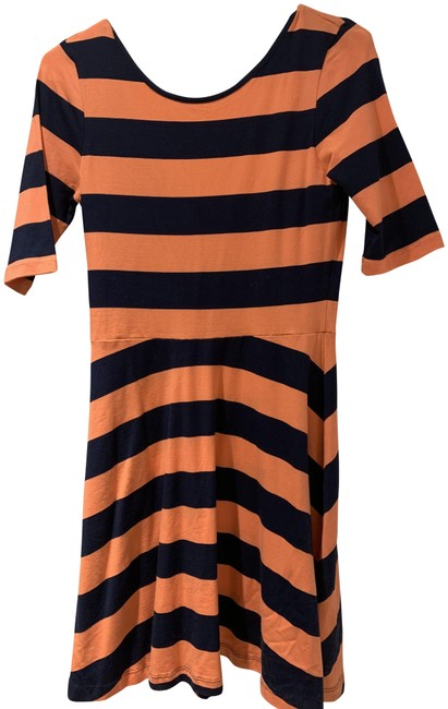 Preload https://img-static.tradesy.com/item/1179811/french-connection-orange-and-navy-short-casual-dress-size-6-s-0-2-650-650.jpg