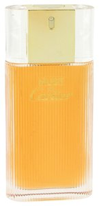 Cartier MUST DE CARTIER by CARTIER ~ Eau de Toilette Spray (TESTER) 3.4 oz