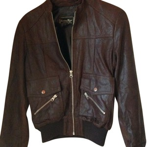 Bettina Rizzi Brown Leather Jacket