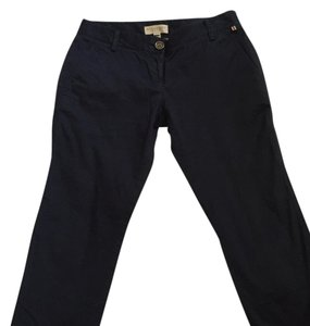Burberry Trousers Ankle Capri/Cropped Pants Navy blue
