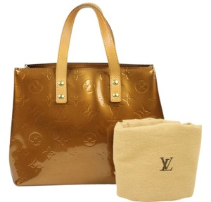 Louis Vuitton Vernis Lead Pm Tote in Perle