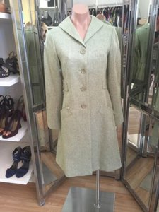 Max Studio Max Studio Long Blazer Green Tweed 0