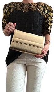 Metallic Gold Clutch