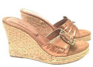 M.P.S. Shoes Bronze New Wedges