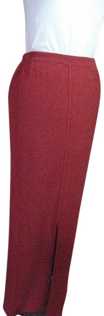 Double D Ranchwear Linen Knit Maxi Skirt Bright Red Image 0