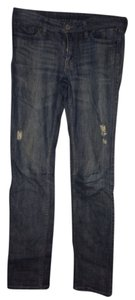 Uniqlo Straight Leg Jeans-Light Wash