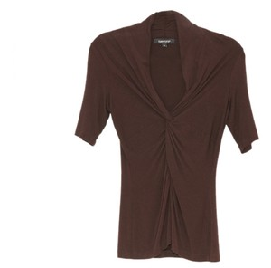 Karen Kane T Shirt Brown