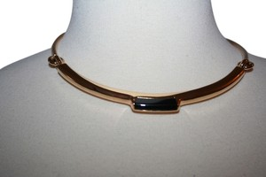 J.Crew W. BRITT FOR J.CREW BAR COLLAR ONYX NECKLACE