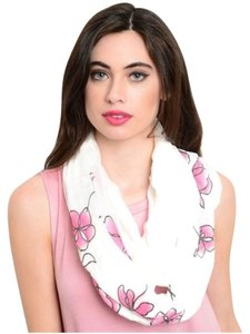 Infinity Scarf with Flowers