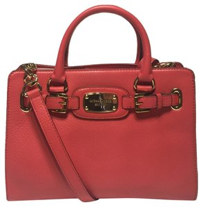 Michael Kors Hamilton Satchel in Watermelon