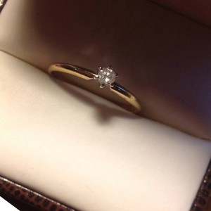 Other .10 Carat Diamond Yellow Gold 10K Ring