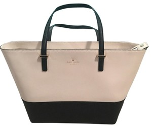 Kate Spade Tote in Black & Cream