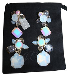 J.Crew J.CREW CRYSTAL CLUSTER EARRINGS