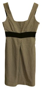 Zara Polka Dot Basic Work Casual Pleat Dress