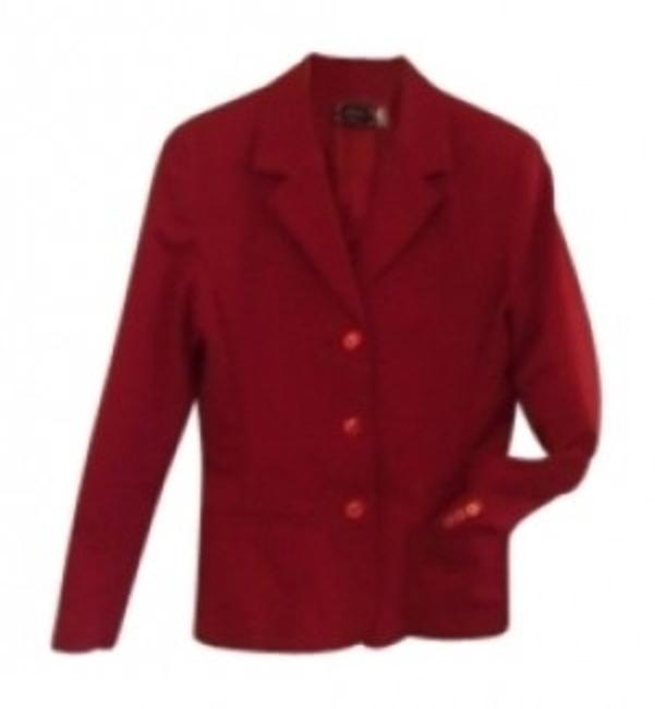 Preload https://img-static.tradesy.com/item/11805/chopin-roma-red-italiana-3-button-fitted-italian-desig-blazer-size-10-m-0-0-650-650.jpg