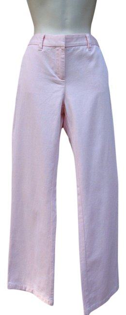 Item - Pink New X 31 Flat Front Trousers Pants Size 6 (S, 28)
