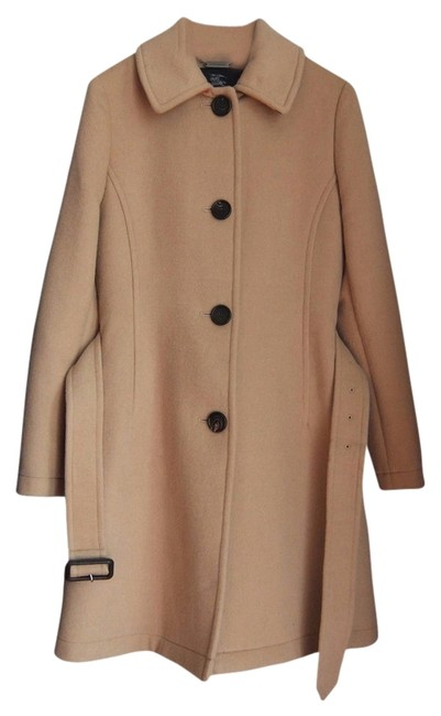 Item - Beige Wool Trench Coat Size 4 (S)