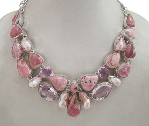 Other Genuine Rhodochrosite, Blure Topaz & Viva