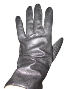 Wilsons Leather Black Leather Gloves