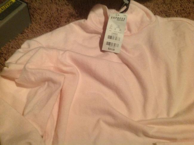 Express Brand In Color Turtleneck Sweater Image 3