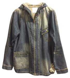 Visvim Japan denim blue Womens Jean Jacket
