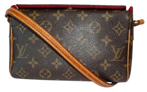 Louis Vuitton Recital Shoulder Satchel in Monogram
