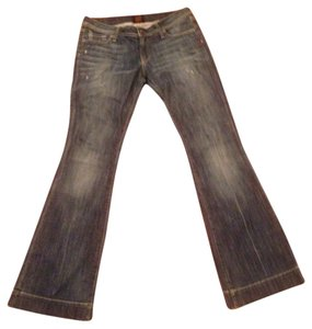 Genetic Denim Flare Leg Jeans-Medium Wash