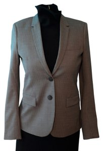 Theory New Wool Matelda jacket in North Hampton Charcoal fabric