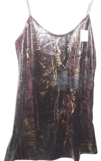 Triangle Sexy leopard casual leisure short metallic brown nightie bridal gift Image 1