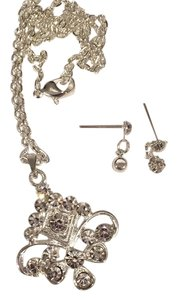 Swarovski Earring/necklace set