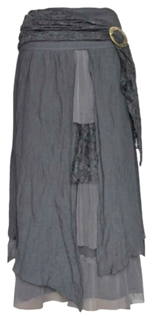 Pretty Angel Skirt Gray