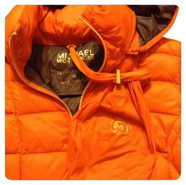 Item - Orange Packable Jacket Pm Coat Size Petite 10 (M)