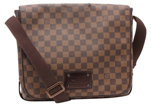 Louis Vuitton Damier Canvas Brown Messenger Bag