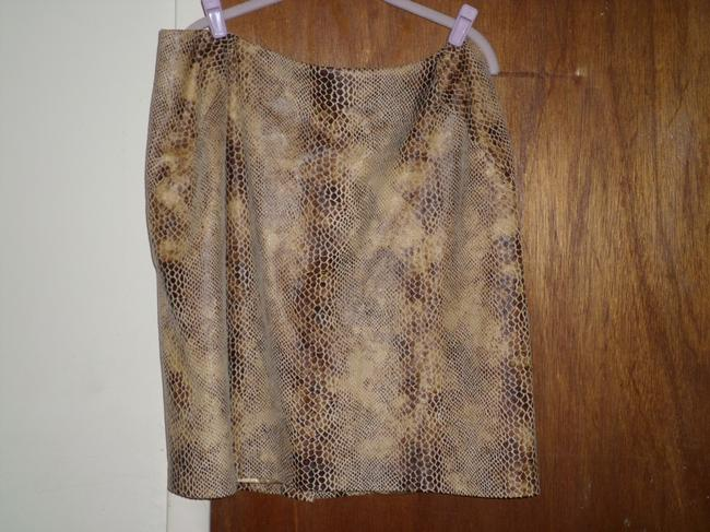 Sam Saboura Skirt Brown