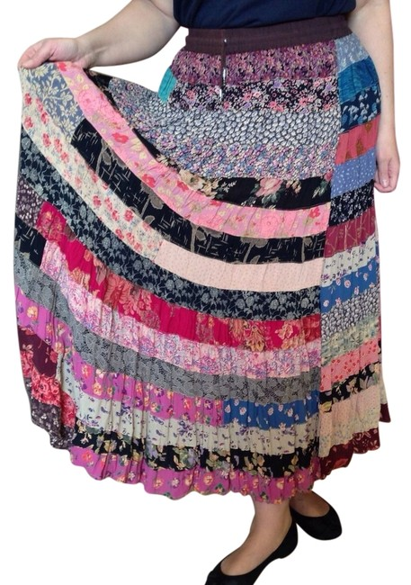 Alyne by Rita Vinieris Maxi Skirt Multicolor